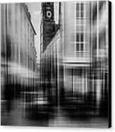 Frauenkirche - Muenchen V - Bw Canvas Print