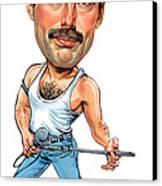 Freddie Mercury Canvas Print by Art