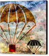 Free Falling Canvas Print by Angelina Vick