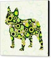 French Bulldog - Animal Art Canvas Print