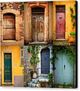 French Doors Canvas Print by Inge Johnsson
