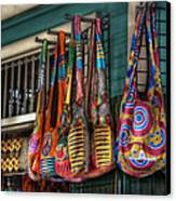 French Market Bags Canvas Print