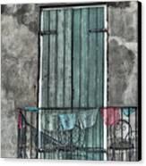 French Quarter Balcony Canvas Print by Brenda Bryant