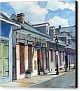 French Quarter Street 211 Canvas Print