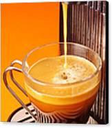 Fresh Espresso Canvas Print by Carlos Caetano
