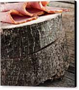 Fresh Ham Canvas Print by Mythja  Photography