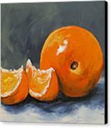 Fresh Orange IIi Canvas Print by Torrie Smiley