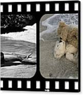 From Here To Eternity Film Strip Canvas Print by William Patrick