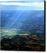 From The Sky 1 Canvas Print by Maxwell Amaro