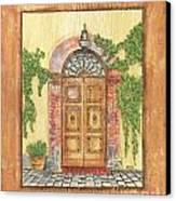 Front Door 2 Canvas Print