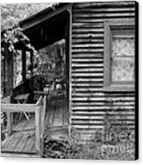 Front Porch Canvas Print by Mel Steinhauer