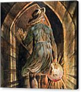 Frontispiece To Jerusalem Canvas Print by William Blake