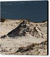 Frosty White Dunes Canvas Print by Adam Jewell