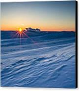 Frozen Lake Minnewaska Canvas Print