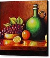 Fruit And Jug Canvas Print