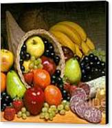 Fruit Cornucopia  Canvas Print