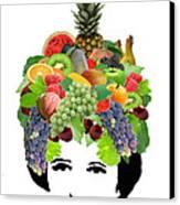 Fruit Lady Canvas Print