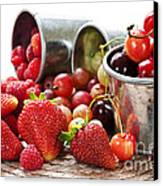 Fruits And Berries Canvas Print