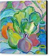 Fruits And Veggies  Canvas Print by Brenda Ruark