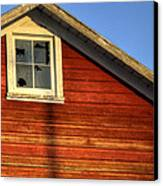 Ft Collins Barn Sunset 2 13508 Canvas Print by Jerry Sodorff