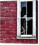 Ft Collins Barn Window 13568 Canvas Print