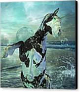Full Moon Twist And Shout Canvas Print