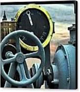 Full Steam Ahead Hmcs Haida Canvas Print by Danielle  Parent