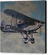 Fury II Raf Canvas Print