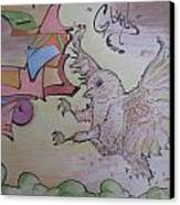 G Birdy Canvas Print by Erik Franco