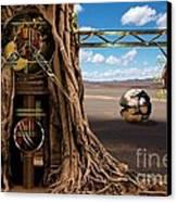 Gagilus Time Dream Canvas Print by Franziskus Pfleghart