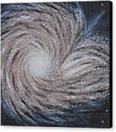 Galactic Amazing Dance Canvas Print by Georgeta  Blanaru