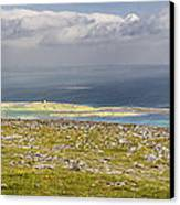 Galway Bay From Abbey Hill  Canvas Print by Michael David Murphy