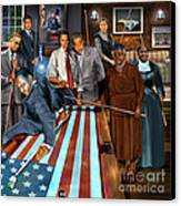 Game Changers And Table Runners P2 Canvas Print by Reggie Duffie