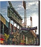 Game Day - Fenway Park Canvas Print