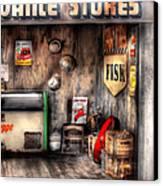 Garage - Advance Stores  Canvas Print