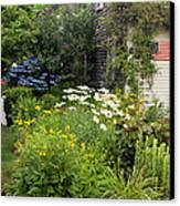 Garden Cottage Canvas Print by Bill Wakeley