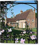 Garden  Cottage Canvas Print by Stephen Norris