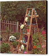 Garden Decorations Canvas Print by Kay Pickens