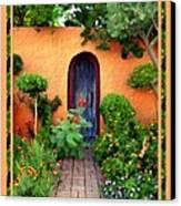 Garden Delights Mesilla Canvas Print