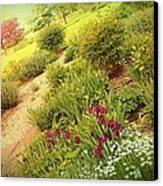 Garden Wish Canvas Print