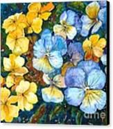 Garden Harmony Canvas Print by Zaira Dzhaubaeva