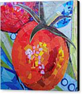 Garden Harvest Collage Detail Canvas Print