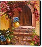 Garden Of Serenity Canvas Print