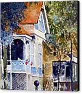 Garden Orb Canvas Print by Monte Toon