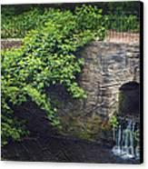 Garden Scene Canvas Print by Svetlana Sewell