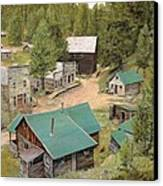 Garnet In Montana Canvas Print