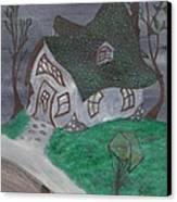 Gaslight Whimsy Canvas Print by Robert Meszaros
