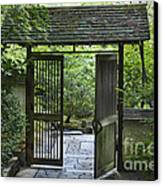 Gates Of Tranquility Canvas Print by Sandra Bronstein