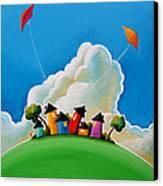 Gather Round Canvas Print