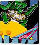 Gator Bowl Canvas Print by Gail Lawnicki